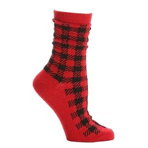 Other - NIP Kelly & Katie Buffalo Plaid Socks